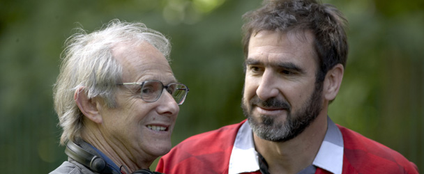 Loach and Cantona in Looking For Eric