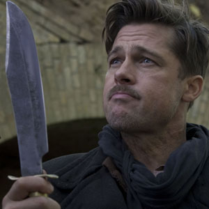 Brad Pitt as Aldo Raine in Inglourious Basterds (Photo: Universal)