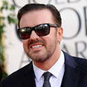 Gervais is golden as The Social Network takes the globes