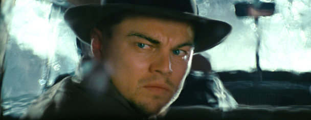 Leonardo DiCaprio as Teddy Daniels in Shutter Island