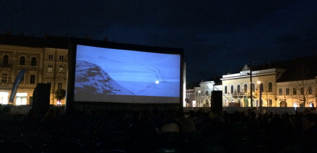 Screening of Order of Disappearance on Unirii Sq